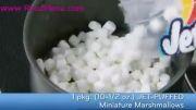 آموزش شیرینی پزی در روزمنو - شیرینی ترد برنجی با مارشمارلو