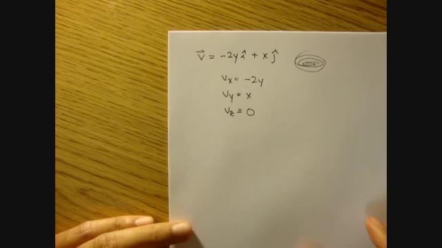 مکانیک سیالات - 08 - معادله خط جریان، مثال 2