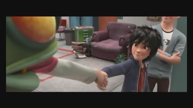 دوبله قسمتی از انیمیشن Big Hero 6