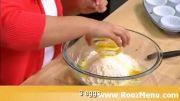 آموزش تزئین کیک در روزمنو  - کاپ کیک ژله ای!