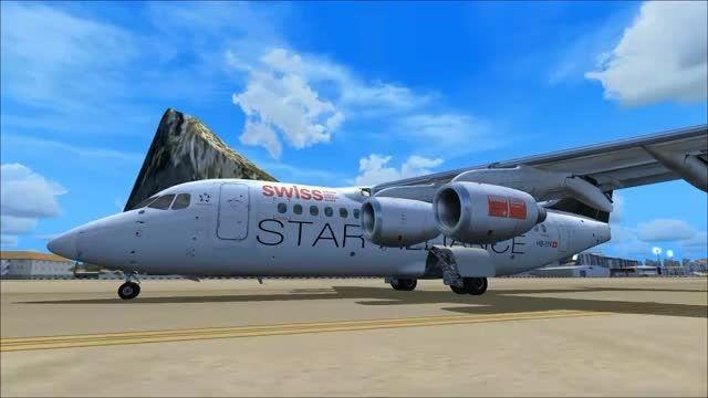 لذت پرواز با هواپیمای BAe-146 در شبیه ساز پرواز