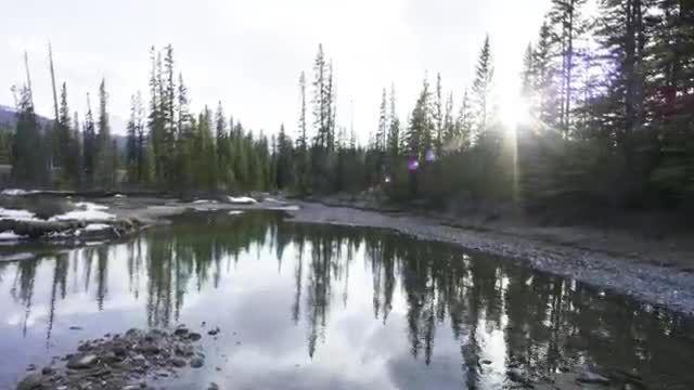 ♥ طبیعت بسیار زیبا و منجمد آلبرتا در کانادا ღ