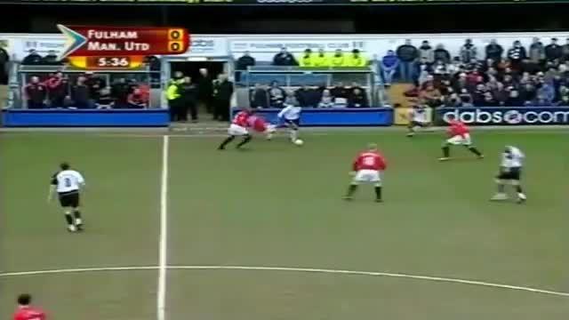 هایلایت بازی کامل کریستیانو رونالدو مقابل فولهام(2004)
