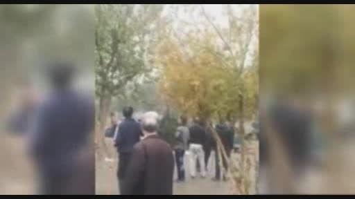 حمله به معتادان پارک نشین در پارک منطقه هرندی تهران