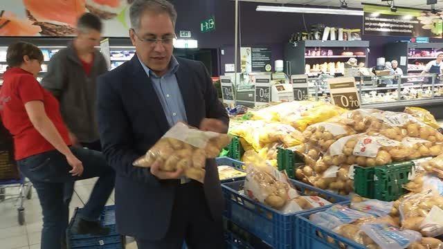 بسته بندی سیب زمینی در اروپا (بلژیک)