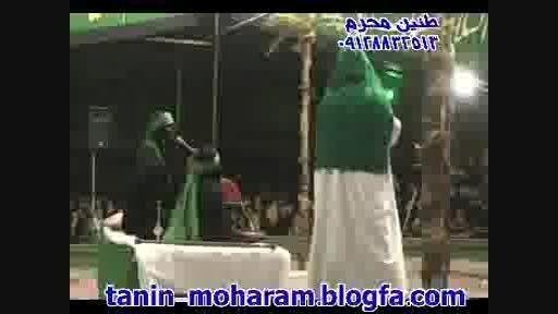 تعزیه حضرت زهرا محسن گیوه کش امام علی مهران فرج الهی 93