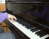 نواختن پیانو از روی دفتر نت