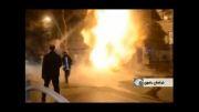 انفجار لوله گاز در مشهد