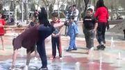 برک دنس بچه های مشهد در پارک آبی ملت