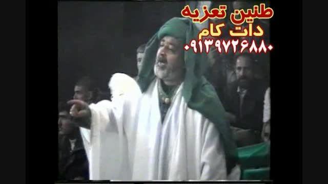 مرحوم مشایخی و عباس جواهری اذن دخول تعزیه حر ۱۳۸۳قودجان