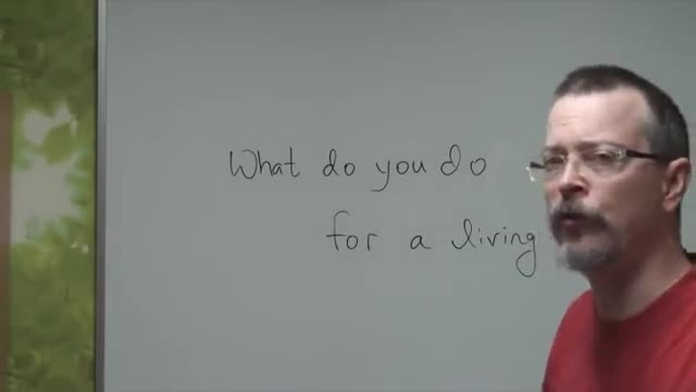 آموزش اصطلاحات انگلیسی*2* ( ? What do you do  )