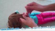 آموزش فردادن موی عروسک بدون آب داغ - آموزش های دخترانه