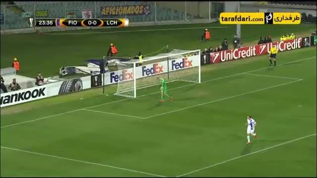 خلاصه بازی فیورنتینا 1-2 لخ پوزنان