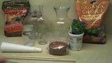 ساخت تراریوم در ده دقیقه باغ شیشه ای