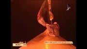 تعویض پرچم امام حسین(ع) به مناسبت فرا رسیدن ایام محرم