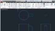 آموزش نرم افزار اتوکد طراحی لیوان