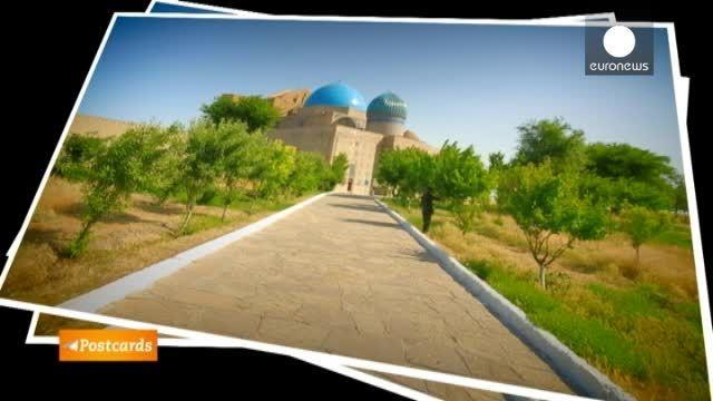قزاقستان؛ آرامگاه خواجه احمد یسوی در ترکستان