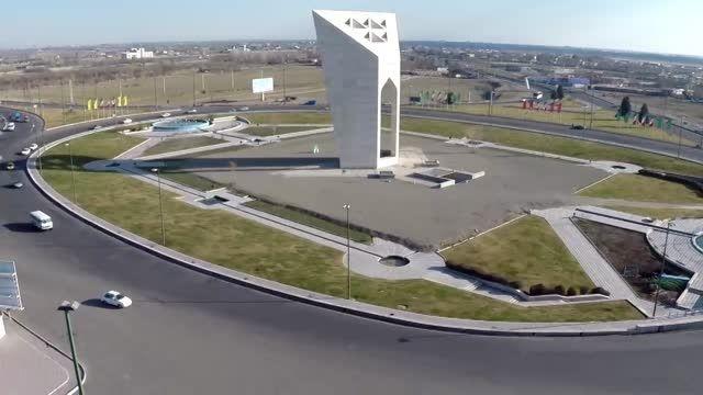 فیلمبرداری هوایی میدان مینودر 2 - شرکت هوابرد