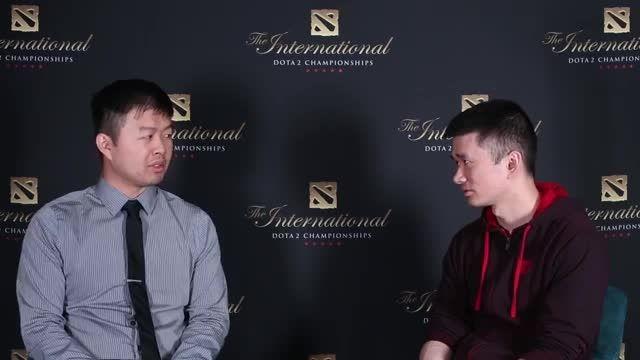 مصاحبه ی Moonlight در مسابقات The International 2015