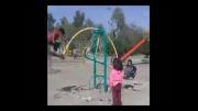زمین بازی کودکان پارک مرکز شهر سوسنگرد
