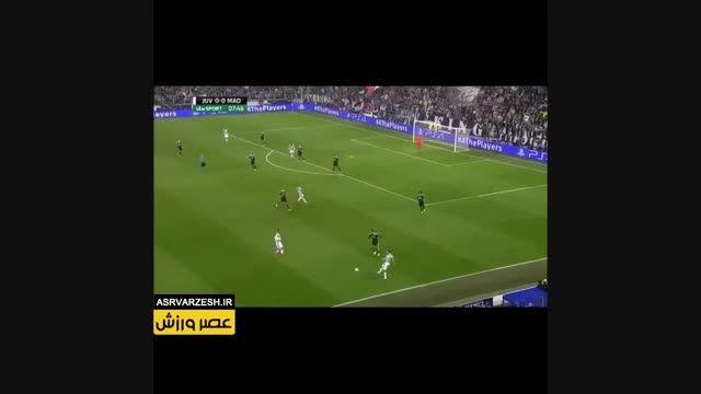 گل اول یوونتوس به رئال مادرید توسط موراتا