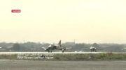 تمرین هوایی انواع جنگندههای نیروی هوایی ارتش در تهران