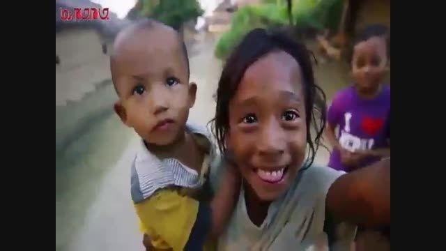 کودکان نپالی اولین بار دوربین می بینند فیلم گلچین صفاسا