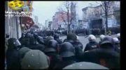 نحوه برخورد پلیس آلمان با مردم معترض
