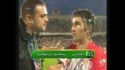 مصاحبه با پژمان جمشیدی بعداز بازی پرسپولیس با آث میلان