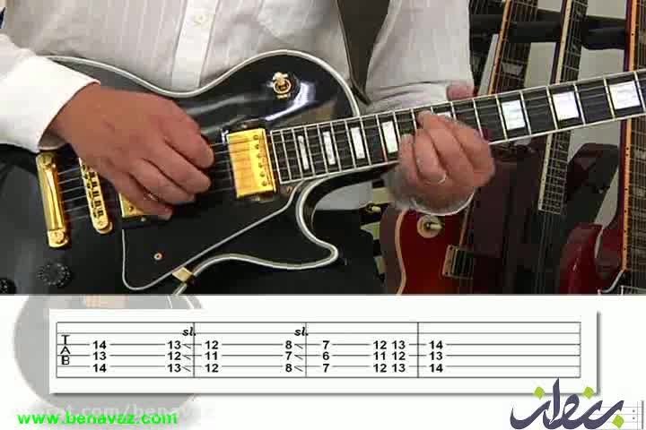 mjs/ آموزش آسان گیتار بلوز/ فروشگاه بنواز
