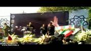 تشییع شهدا-عرفه92-هلالی طاهری و بهمنی