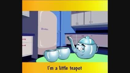 شعر كودكانه انگلیسی I'm A Little Tea-Pot