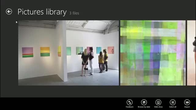 آموزش ویندوز 8 / استفاده از اپلیکیشن تصاویر ویندوز 8