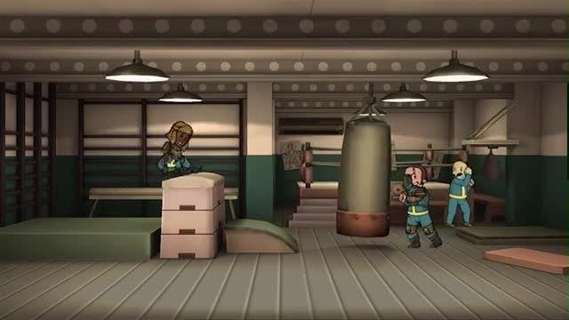 تریلر بازی  fallout shelter مخصوص دیوایس های ios