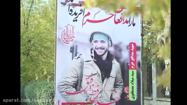 آخرین پیام های ارسالی شهید مدافع حرم،سید میلاد مصطفوی