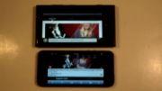 تست سرعت گوشی های nokia lumia 920 با apple iphone 5