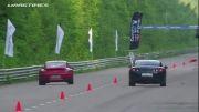 Porsche 911 Proto 1000 vs Nissan GT-R EcuTeck