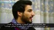 حمله آخوند انگلیسی به مردم مظلوم فلسطین