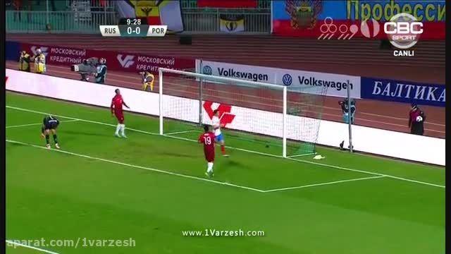 روسیه 1-0 پرتغال