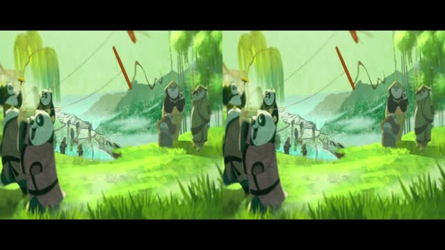 قسمت کوتاه انیمیشن سه بعدی Kung Fu Panda 2 2011 HD 3D