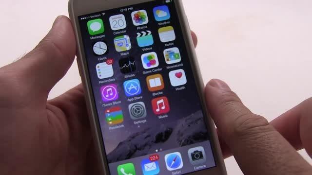 فعال کردن میزان درصد باتری در iOS 8