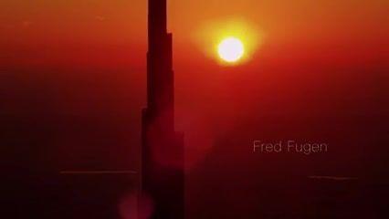 پرش از روی برج خلیفه (بلندترین برج دنیا)