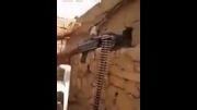 شوخی سرباز عراقی با تک تیرانداز داعش