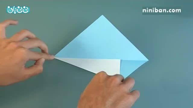 آموزش اوریگامی برای کودکان- قو