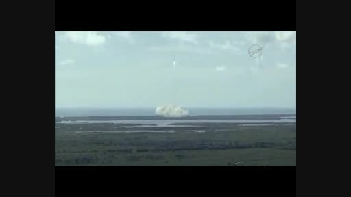 پودر شدن موشک فضایی ناسا بعد از پرتاب
