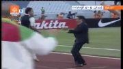 گل زیبای علی کریمی بعد از بازگشت به تیم ملی ایران
