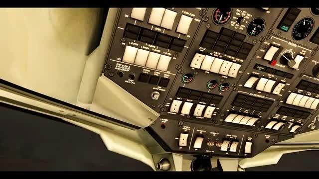 پرواز آموزشی کامل QW RJ100 در شبیه ساز پرواز