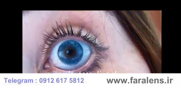 لنز رنگی سولوتیکا نچرال کالرز faralens.ir | Azul