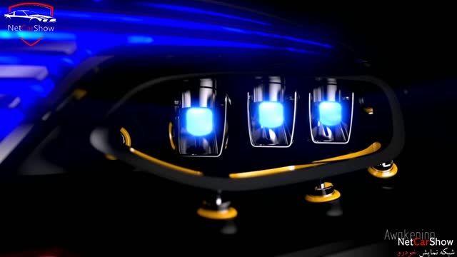 تکنولوژی چراغ مرسدس بنز GLC - مفهومی - (HD)