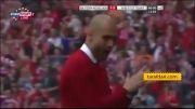 گل بازی بایرن مونیخ 1 - 0 اشتوتگارت